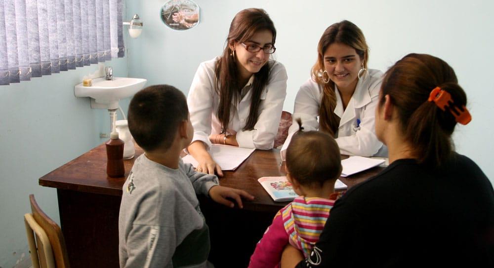 Atendimento em postos de saúde